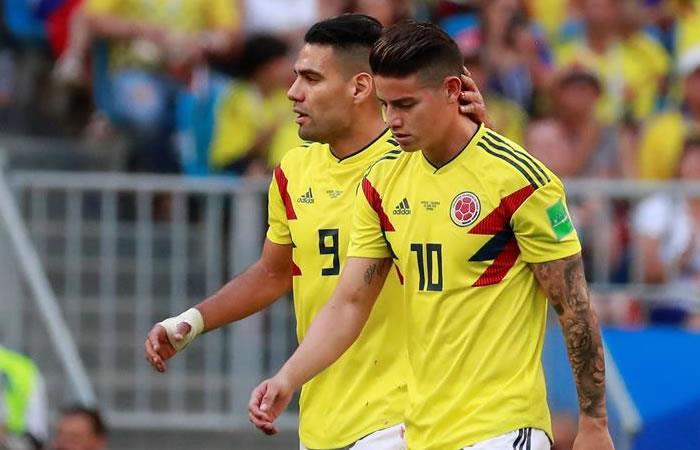 Selección Colombia: ¿Qué le pasó a James Rodríguez?