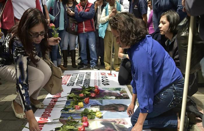 Ecuador dio el último adiós a los periodistas secuestrados por Guacho