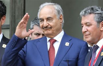 """Libia; Mariscal que controla el este del país rechaza """"presencia militar extranjera"""""""