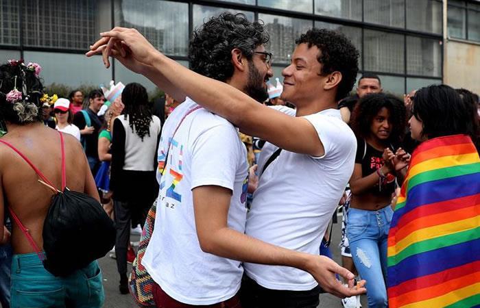 La Marcha se realizó en todo Colombia. Foto: EFE