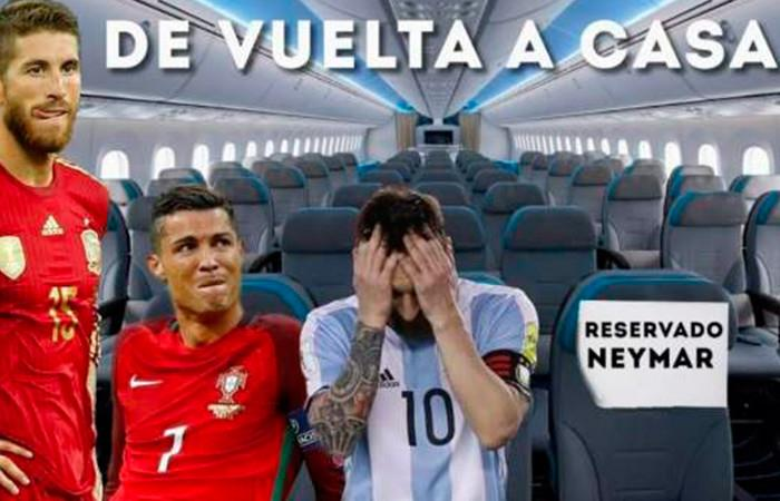 Los memes que dejó la eliminación de España y Dinamarca