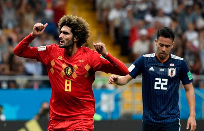Bélgica elimina a Japón y clasifica a cuartos de final