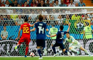 Bélgica vs Japón: Así fueron los golazos del partido