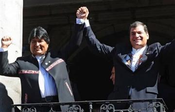 Ecuador 'protesta' a Bolivia y Venezuela por declaraciones sobre Correa
