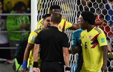 """Falcao estalla contra el árbitro: """"Es una vergüenza"""""""