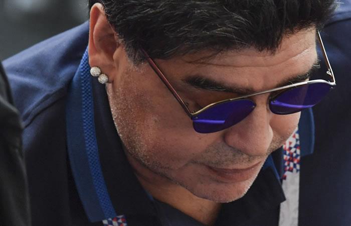 Maradona: 'Vi un robo monumental, le pido disculpas a todo el pueblo colombiano'