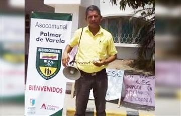 Palmar de Varela: Asesinan a líder social durante el partido de Colombia