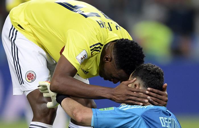 Yerry Mina: 'Lo dejamos todo por Colombia'