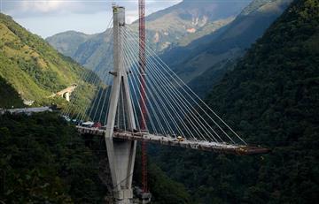 Chirajara: Confirman demolición de restos de viaducto desplomado