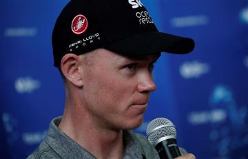 Tour de Francia: Chris Froome fue abucheado en la presentación del Team Sky