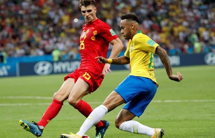 Bélgica se clasificó a la siguiente fase de la Copa del Mundo. Foto: EFE