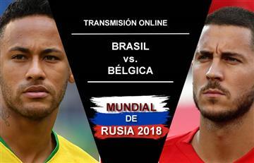 Brasil vs. Bélgica: Transmisión EN VIVO online