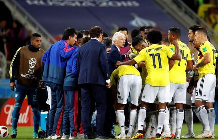 La selección Colombia se despidió de Rusia 2018 en los octavos de final. Foto: EFE