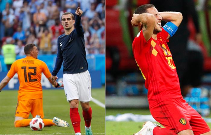 Así se jugará la semifinal del Mundial