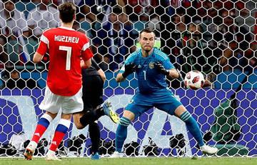 Entretiempo: Rusia y Croacia empatan a 1 en últimos cuartos de final