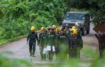 Tailandia: Salvados los 12 niños y su entrenador de la cueva inundada