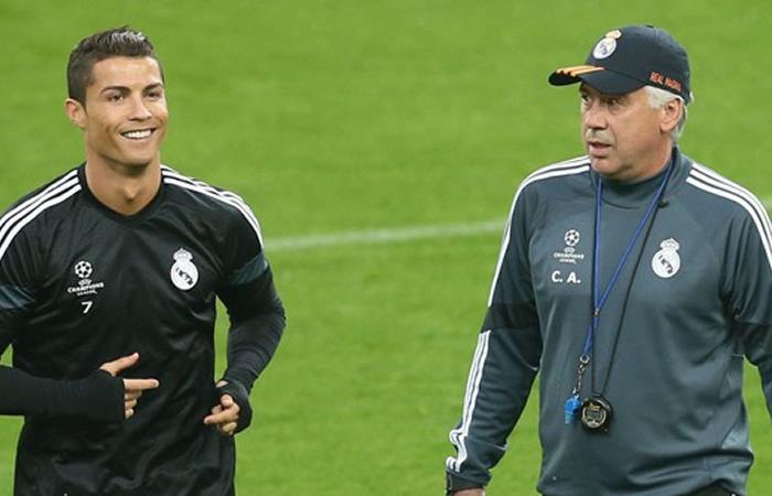 Ancelotti afirma que fichaje de Ronaldo con la Juventus solo motiva más al Nápole