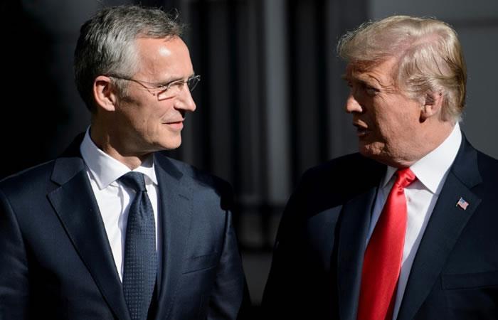 Cumbre de la OTAN: Trump afirma que Alemania es 'prisionera' de Rusia