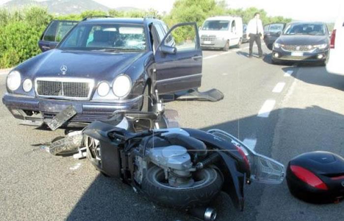 Foto: EFE Así fue la escena del accidente.
