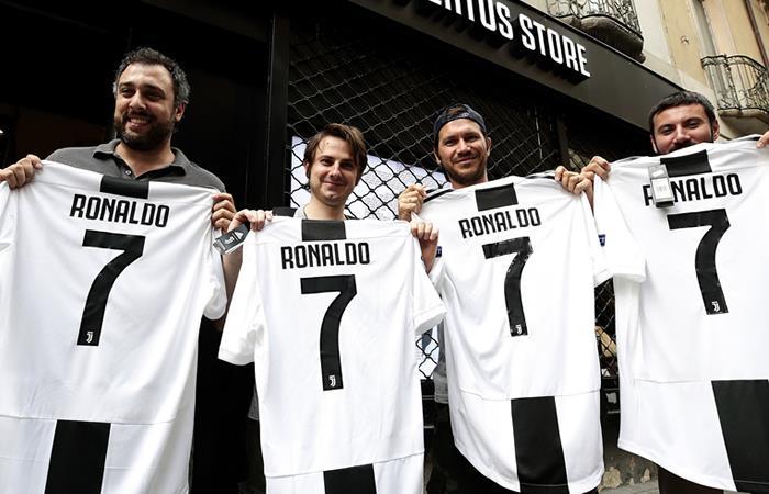 Se cae la tienda digital de la Juventus por solicitud de camisetas de Ronaldo