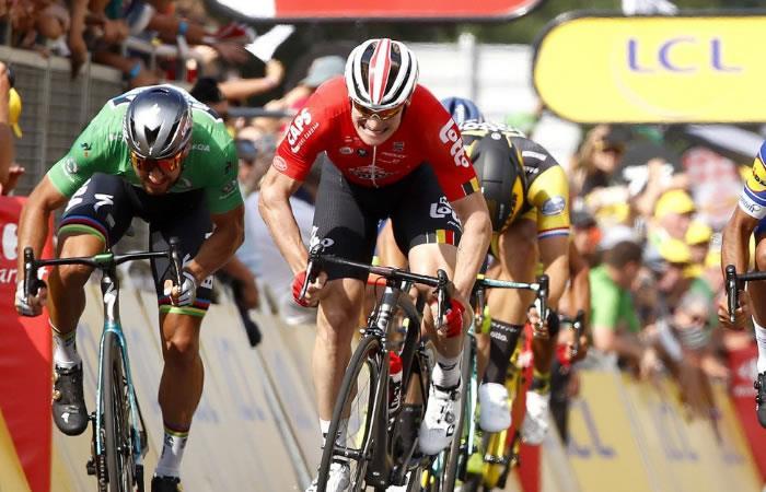 Tour de Francia: Peter Sagan se impuso en la quinta etapa