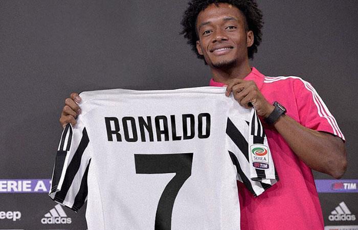 ¿A Juan Guillermo Cuadrado le molestó darle la 7 a Cristiano Ronaldo en la Juventus?