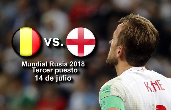 Bélgica vs. Inglaterra: ¿A qué hora se juega y dónde ver el partido por TV?