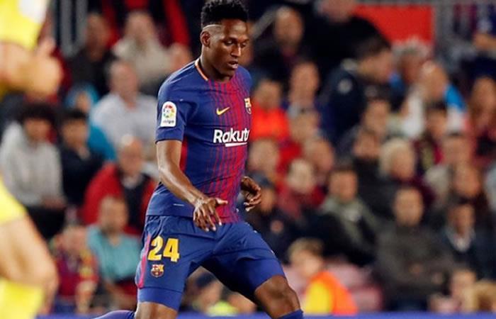 Yerry Mina: Director deportivo del Barcelona, 'es un jugador en quien confiamos'