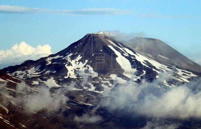 Alerta en Chile por explosión y sismo en complejo volcánico