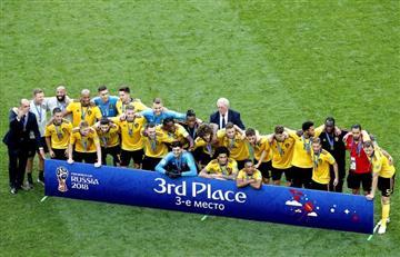 Bélgica se quedó con el tercer puesto de la Copa Mundo al vencer a Inglaterra