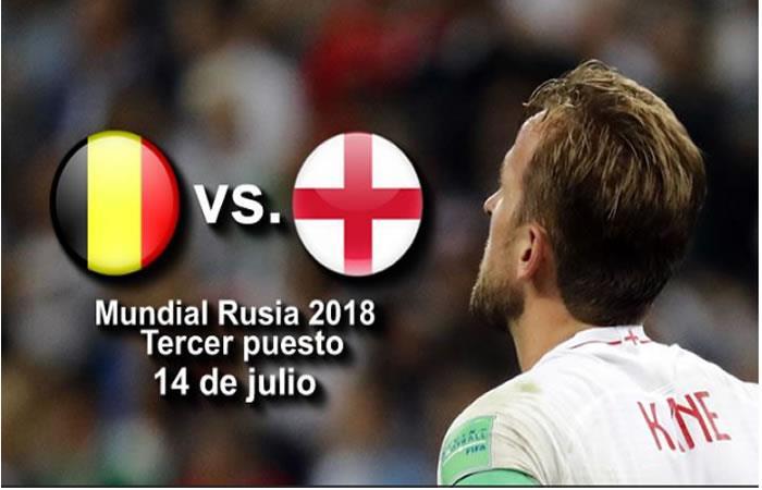 Bélgica e Inglaterra se enfrentar por el tercer puesto de la Copa Mundo. Foto: EFE