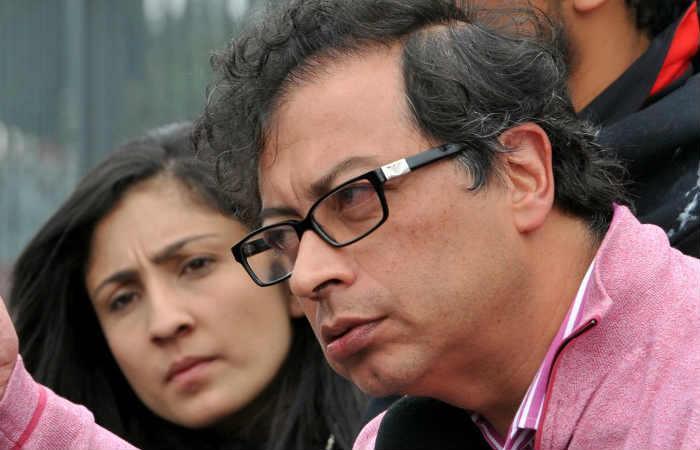 Gustavo Petro hace un llamado para que no lo censuren. Foto: AFP