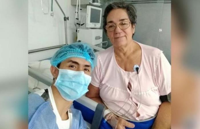 Falleció la madre de Jossimar Calvo