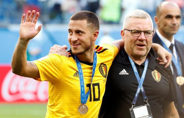 Hazard destacó la buena actuación de su equipo en Rusia