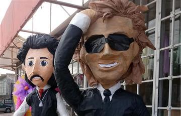 Luis Miguel y Luis Rey son unas populares piñatas en México