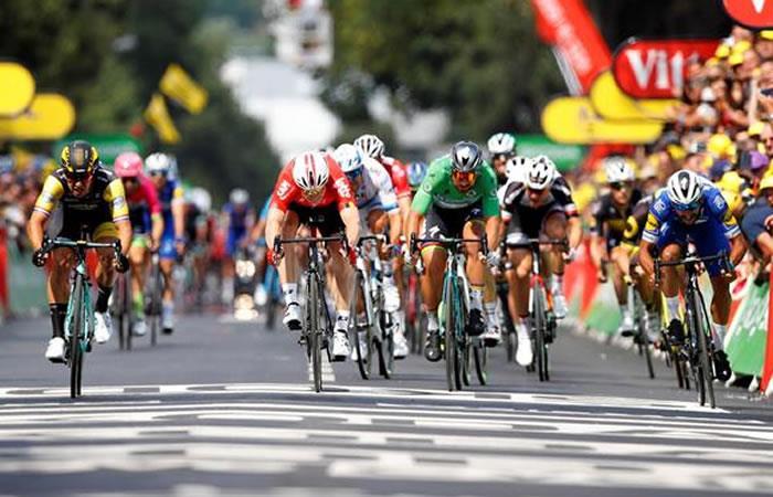 ¿Por qué sancionaron a Fernando Gaviria en la etapa 8?