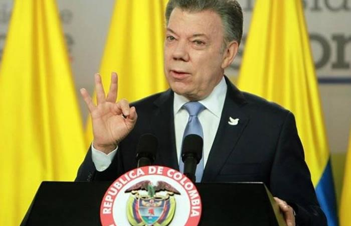 Santos le pide a Trump mediar con Putin por esta razón