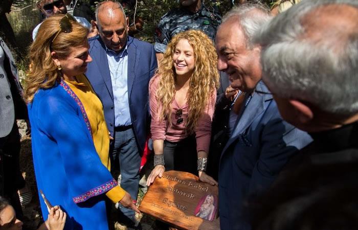 Shakira abre festival de música en Líbano