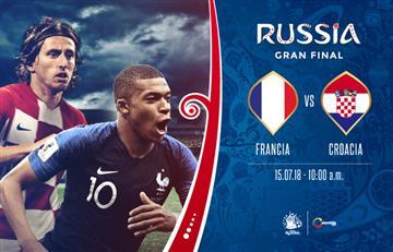 Francia vs. Croacia: ¿A qué hora se juega y dónde ver el partido por TV?