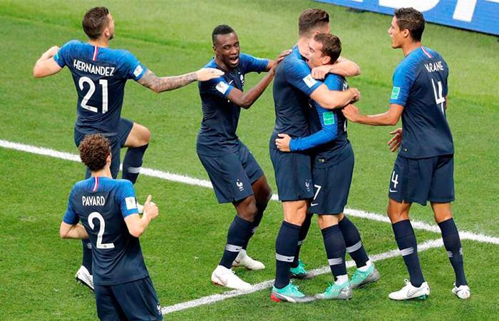 Francia campeón del mundo. Foto: EFE