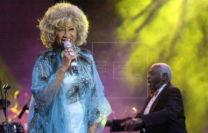 Celia Cruz falleció hace 15 años. Foto: EFE
