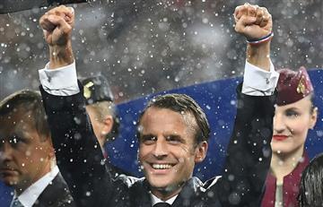 ¿Macron podría tener un buen impulso tras victoria en el Mundial?