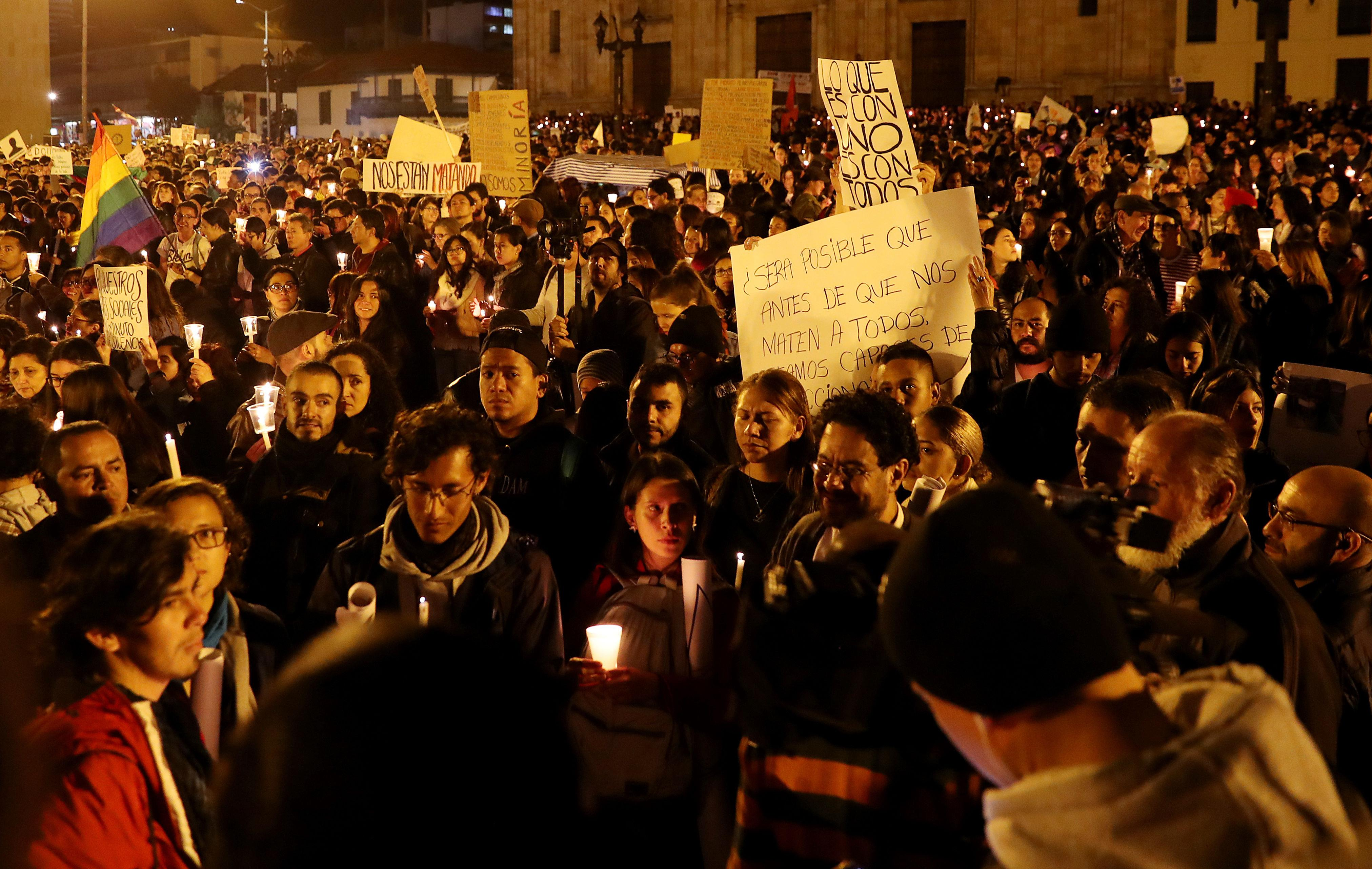 Cooperantes en Colombia rechaza asesinatos de líderes sociales