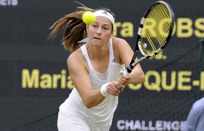 Mariana Duque, eliminada en la primera ronda de Bucarest