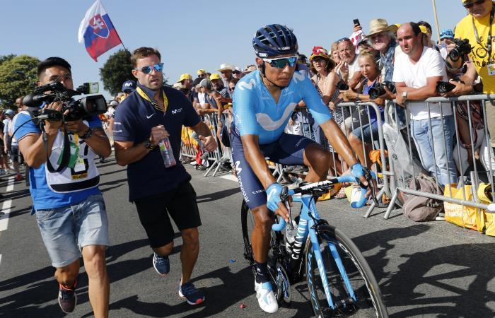 Nairo Quintana sigue escalando posiciones en el Tour de Francia