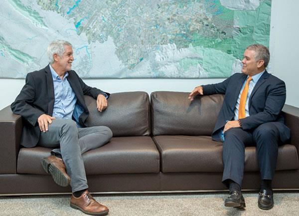 Iván Duque apoyará la construcción del metro de Bogotá
