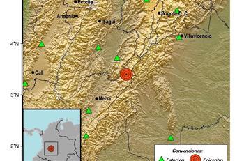 El centro del país fue sacudido por un fuerte sismo de 5,2 grados