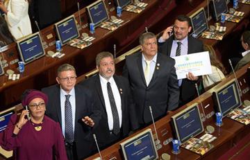 Congreso de Colombia: Se posesionan integrantes de la Farc