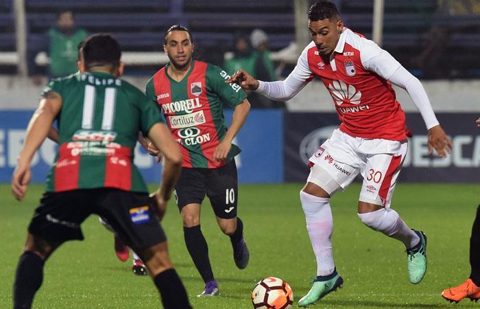 Copa Sudamericana: Santa Fe iguala sin goles en su debut