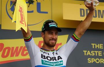 """Sagan: """"Me quedé a la par de Kristoff. Estoy muy contento de haberle ganado"""""""